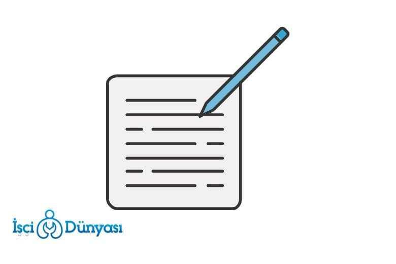 iş sözleşmesi örneği belirli süreli