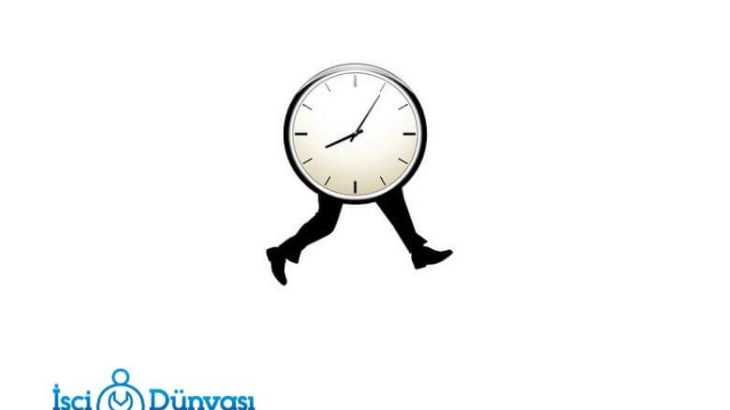 işçi günlük çalışma saatleri