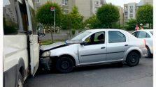 İşyeri aracıyla kaza yapan işçi