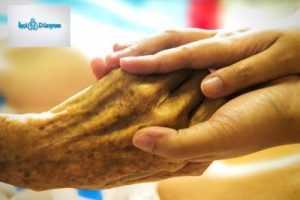 teselli için sıkışan eller