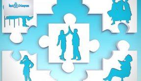 insanlardan oluşan puzzle