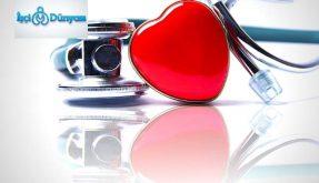 kırımızı kalp ve steteskop