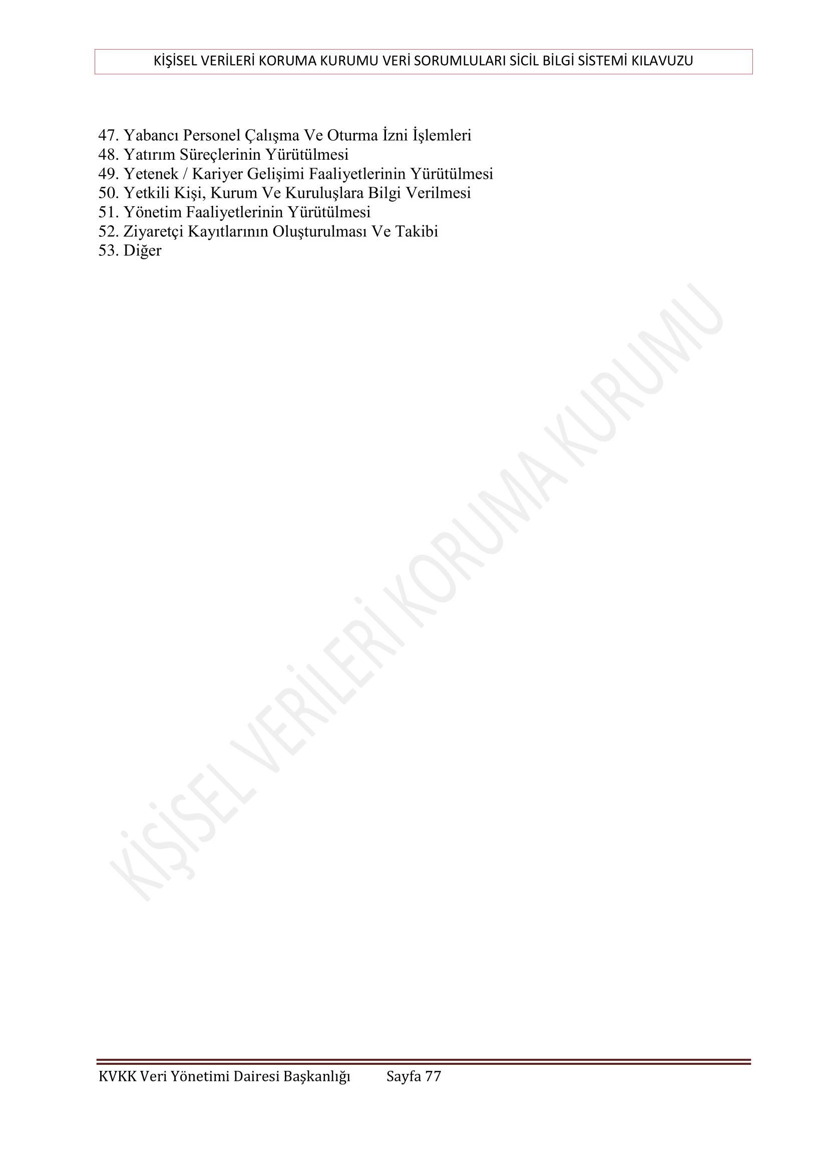 kvkk 77